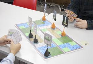 「クロスフィールド」外薗さん デジタルゲーム学科 渡部研